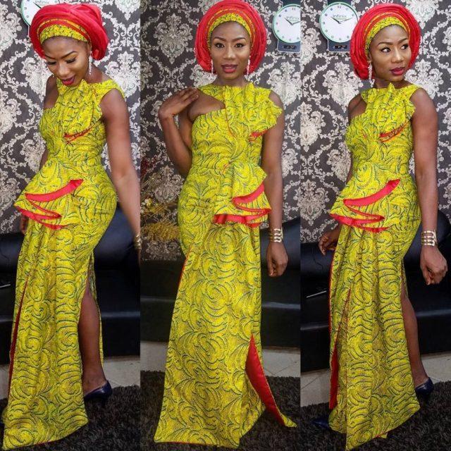 latest fashionable ankara styles 5