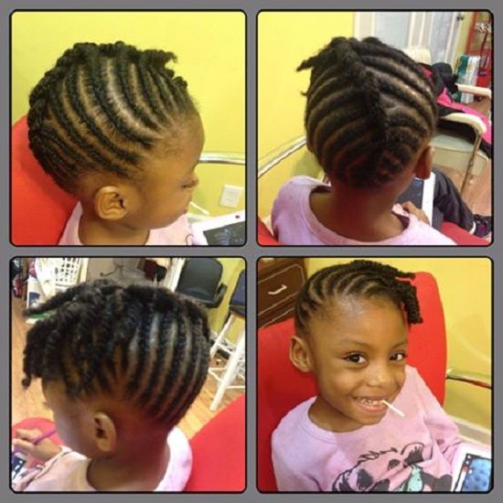 Natural Hairstyles for Kids with Short Hair 2018 : Kids Hairstyles Ideas