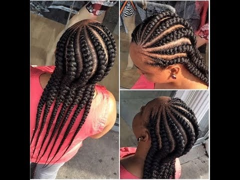 New Ghana Weaving Hairstyle 2017 2018 For You