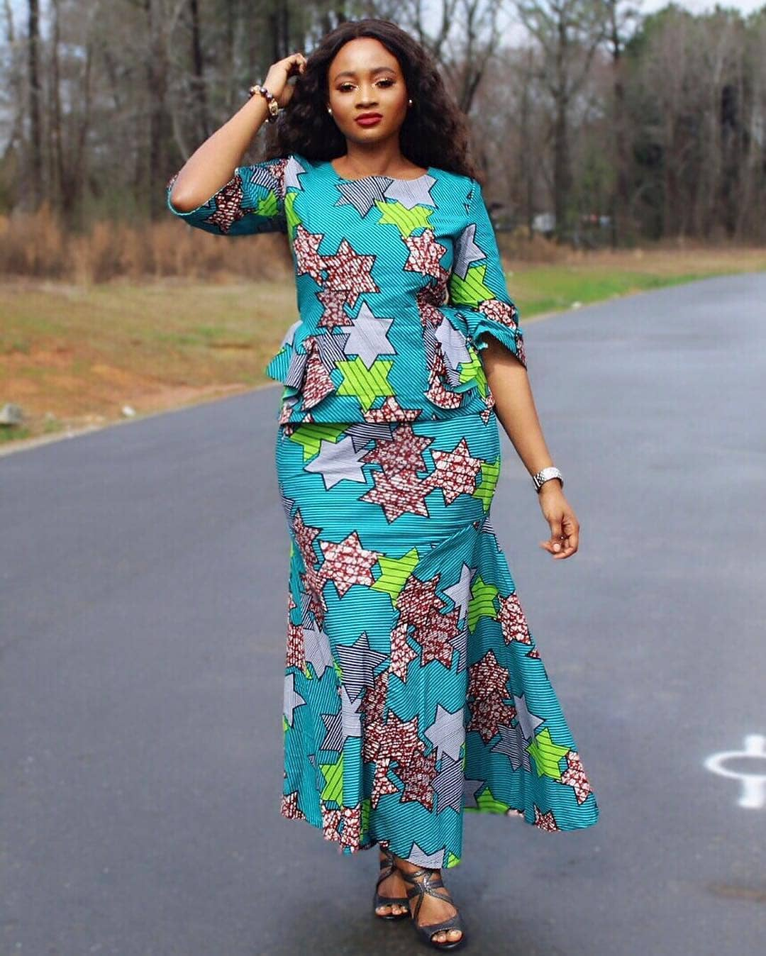 15+ Beautiful African Dresses Styles 2019 All For You ...