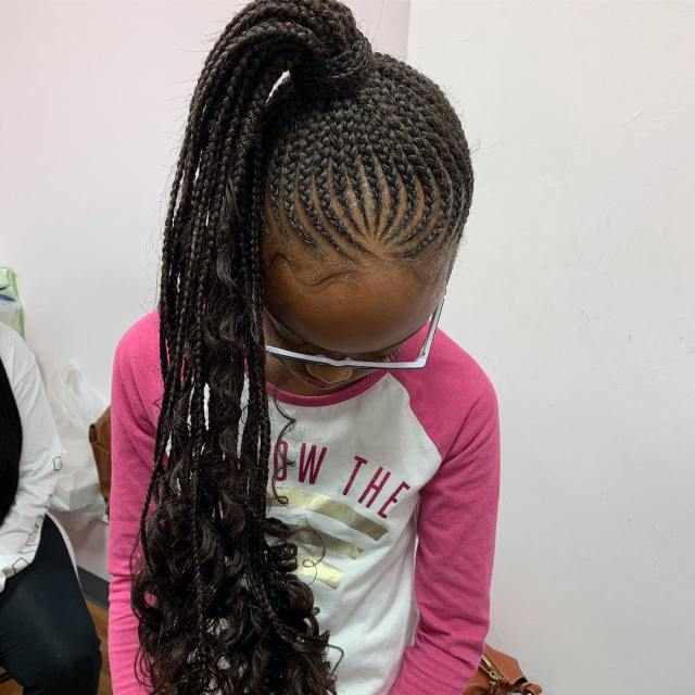 Back To School Cornrow Hairstyles Choose For Your Cute
