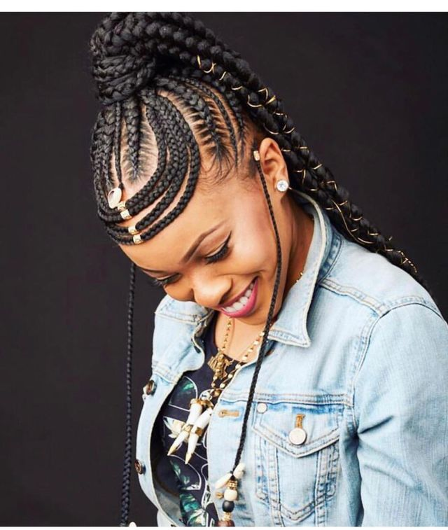 2020 Black Braided Hairstyles Trends for Captivating Ladies