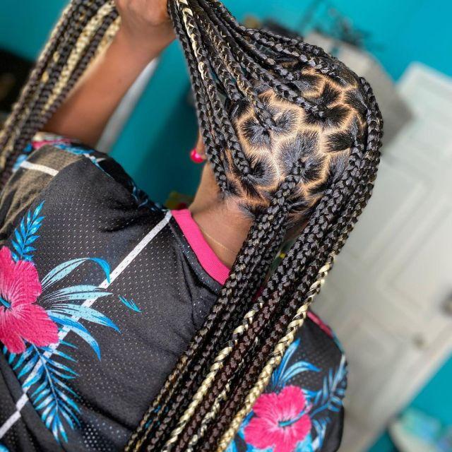 2021 Braided Hairstyles: Latest Box Braid Hairstyles To ...