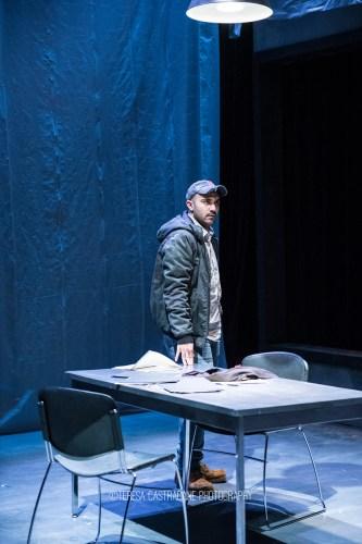 Photo of Maboud Ebrahimzadeh as Katurian in The Pillowman.