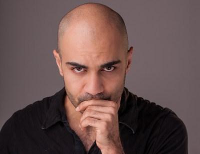Maboud Ebrahimzadeh, photo by Nate Pesce