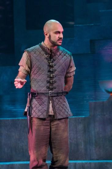Maboud Ebrahimzadeh as Casca
