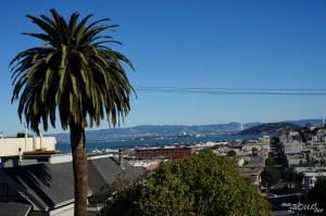 La baie et Berkeley en arrière plan.