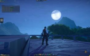 Moonrise from the Rooftop