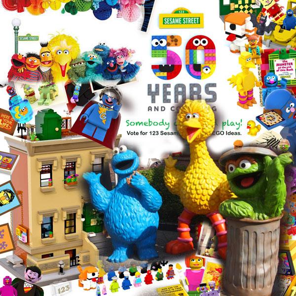 Read more about the article Un set Sesame Street sur LEGO® Ideas