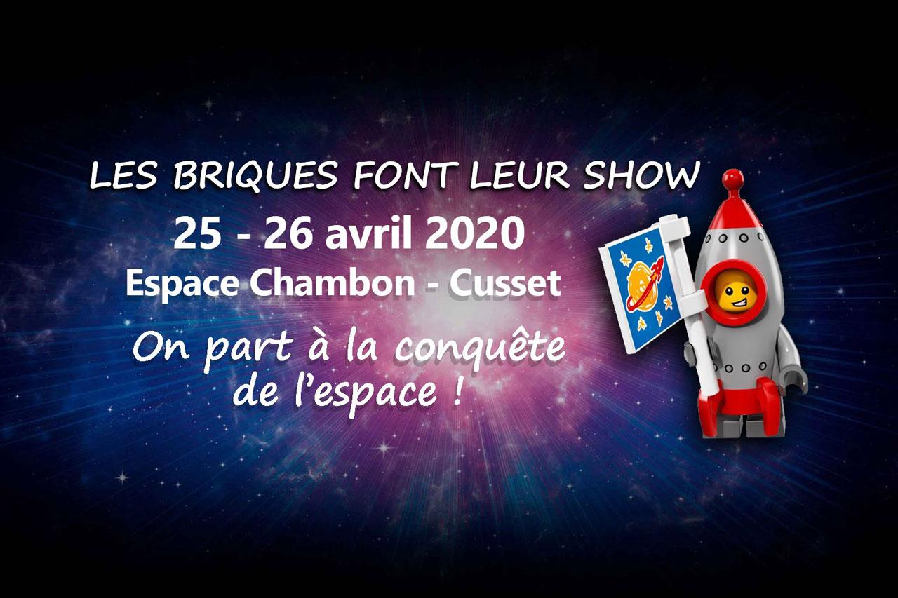 Read more about the article Les briques font leur show 3ème édition