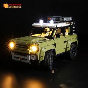 Kit led à câbler pour le Land Rover Defender LEGO® Technic 42110