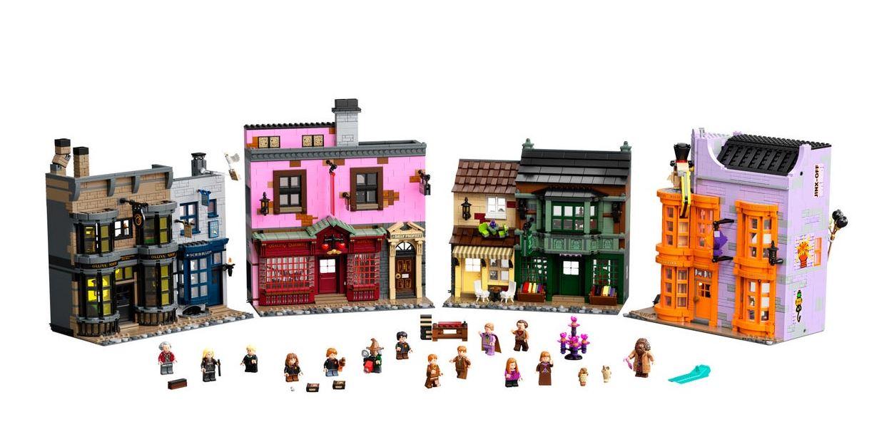 Read more about the article Kit led pour Le Chemin de Traverse LEGO® Harry Potter 75978