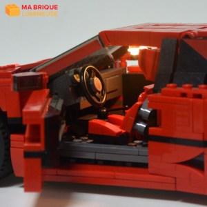 Kit led précâblé pour La Ferrari F40 LEGO® Creator 10248