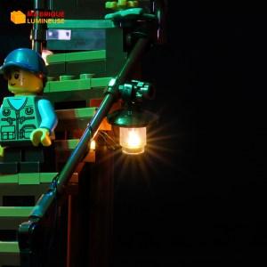 Kit led précâblé pour La cabane dans l'arbre LEGO® Ideas 21318