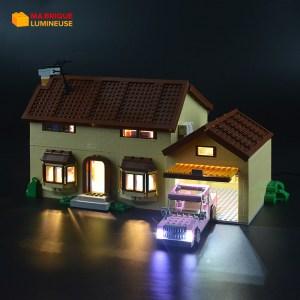 Kit led précâblé pour La maison Simpsons LEGO® Simpsons 71006