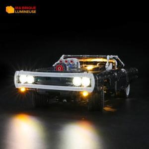 Kit led précâblé pour Dom's Dodge Charger LEGO® Technic 42111