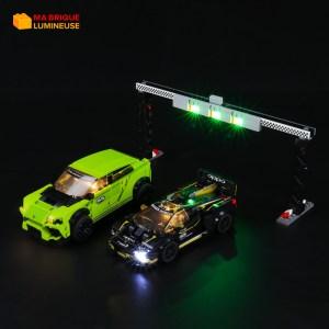 Kit led précâblé pour Lamborghini Urus ST-X et Huracan LEGO® Speed Champions 76899