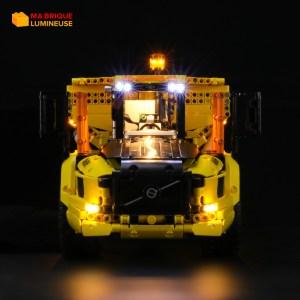 Kit led précâblé pour Le tombereau articulé Volvo 6×6 LEGO® Technic 42114