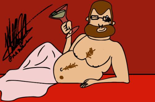 Doodle Day 1 – Self Portrait