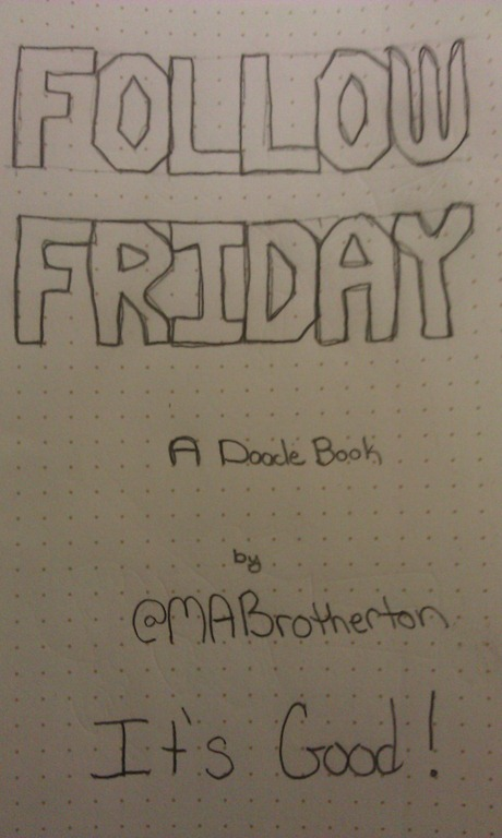 Follow Friday Doodle Book