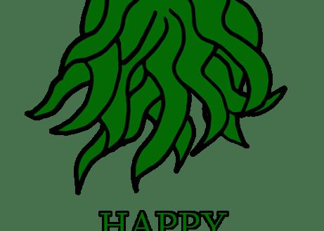 Happy Birthday, Mr. Lovecraft… A #Doodle