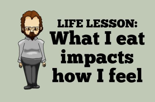 Life Lesson: What I eat impacts how I feel
