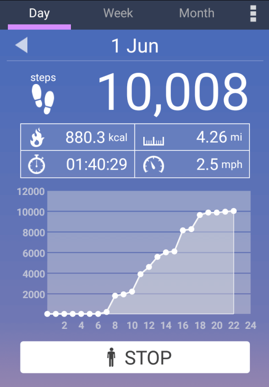 Using the Pedometer App on Android. 10,000 Steps is a ...