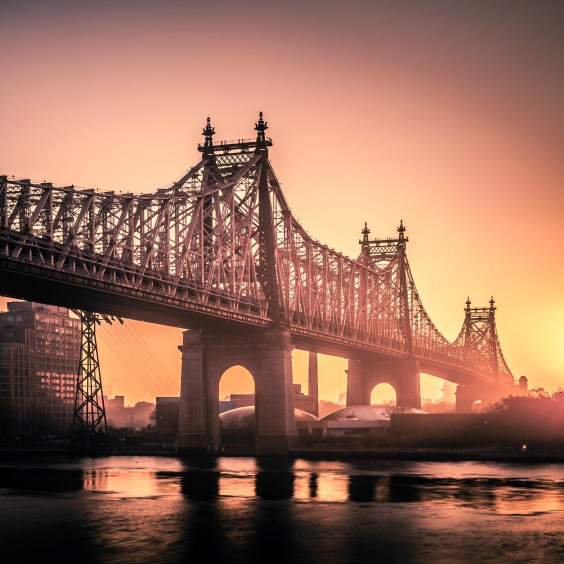 59th St Bridge Sunrise - Fine Art Photographer - Houston - Mabry Campbell