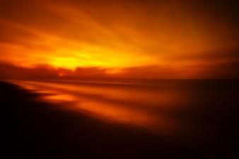 Burning-Dawn-Seascape-Along-The-Texas-Coast-Mabry-Campbell