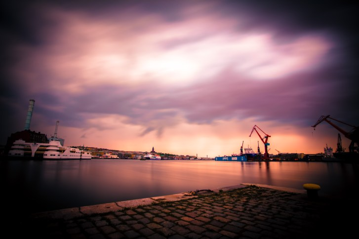 Gothenburg Harbor - Mabry Campbell
