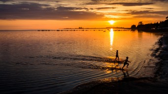 Running To Shore - Fine Art Photographer - Houston - Mabry Campbell