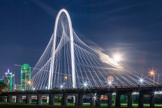 Margaret Hunt Hill Bridge Starman - Architectural Photographer - Houston - Mabry Campbell