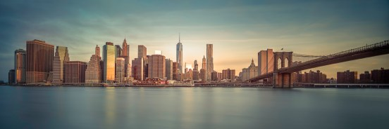 I Am Lower Manhattan ~ Golden Skyline - Mabry Campbell