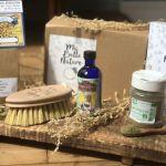 box bien-être naturopathe brossage à sec coffret bien-être