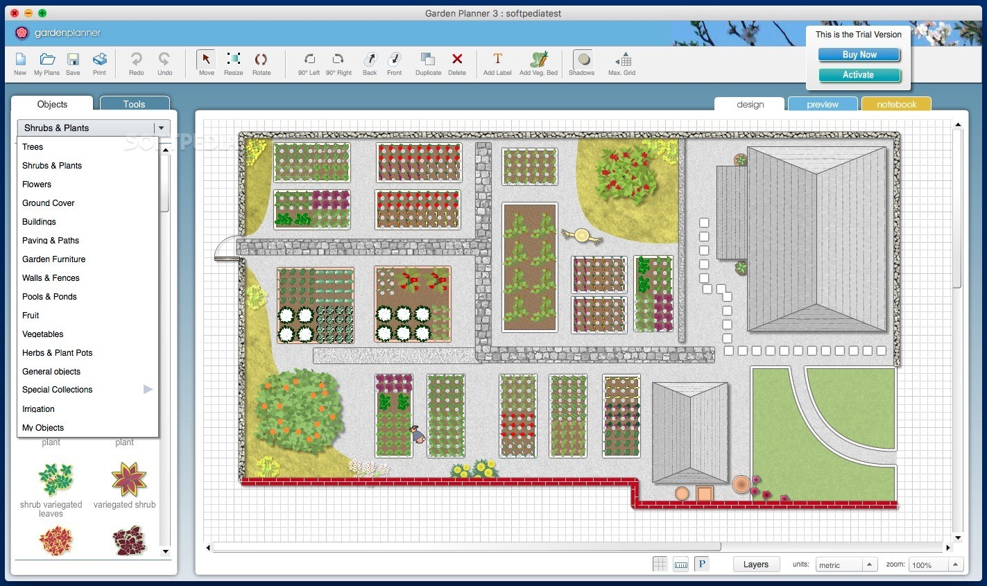 Garden Planner Mac 3.7.36 - Download on Patio Planner id=20674