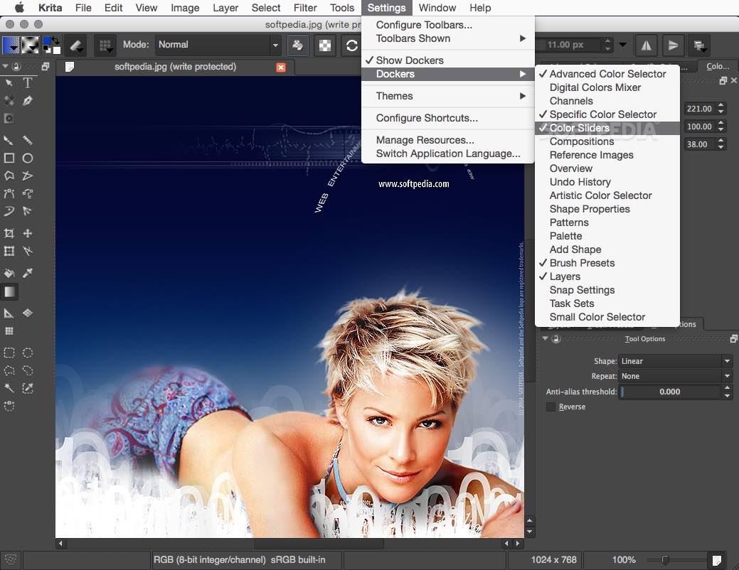 Download krita 3.1 for gnu/linux, mac os x, and microsoft windows. Krita Mac 4 4 8 Download