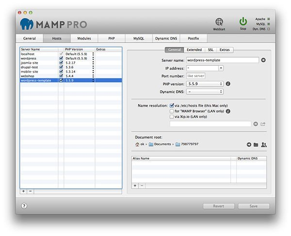 MAMP Pro 4.5.0 Crack For Mac Osx