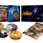 「アベンジャーズ/インフィニティーウォー」DVD・BDが9月5日(水)より発売&レンタル開始