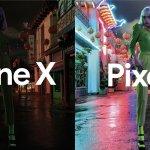 Google「Pixel 3」と「iPhone XS」の暗所撮影した比較写真を公開。