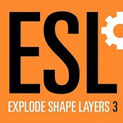 AEscripts Explode Shape Layers icon
