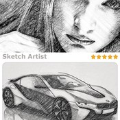 CreativeMarket_Sketch_Artist_Photo2_Sketch_Action_10137