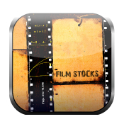 Digital film tools film stocks logo icon