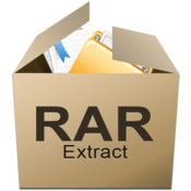 Rar extract icon