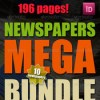 10 newspapers mega bundle 6428904 icon