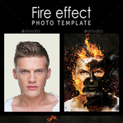 Fire effect photo template 11108155 icon