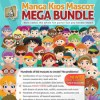 Manga kids mascot mega bundle 3937832 icon