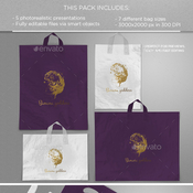 Plastic bags mockups 11035669 icon