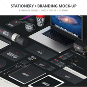 Stationery branding mock up 12506776 icon