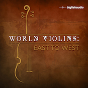 Big fish audio world violins east to west icon