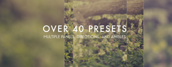 Over 40 Presets